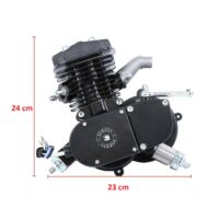 Kit Motor Completo 80cc – Preto