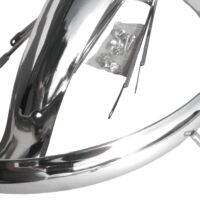 Guarda Lamas Cromados 26″ p/ Bicicleta Cruiser